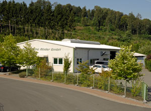Our company building in Bessenbach